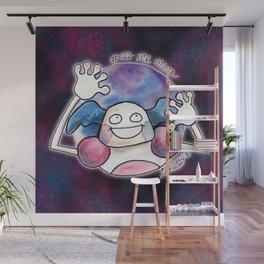 122-MrMime Wall Mural