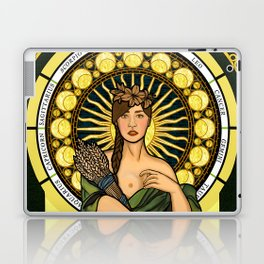 Queen of gluten/Goddess of harvest Laptop & iPad Skin