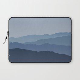 Misty Mountain Blue Laptop Sleeve