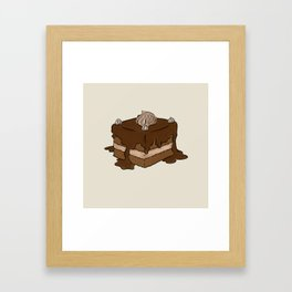 A is for Amandine Framed Art Print