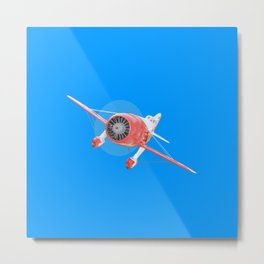 GEE BEE R1 Closing Metal Print