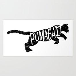 Puma Bait Art Print