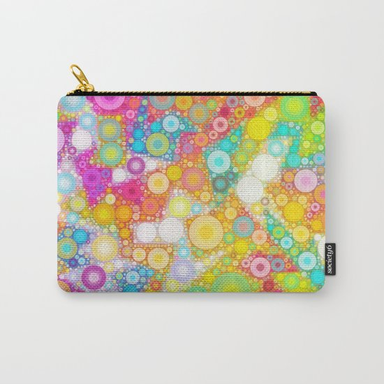 Sunny Bubbles on the Water Carry-All Pouch