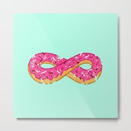 To infinity…and donut! Metal Print