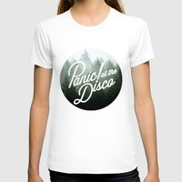 panic at the disco T-shirts featuring Panic! at the disco round trees  by Van de nacht