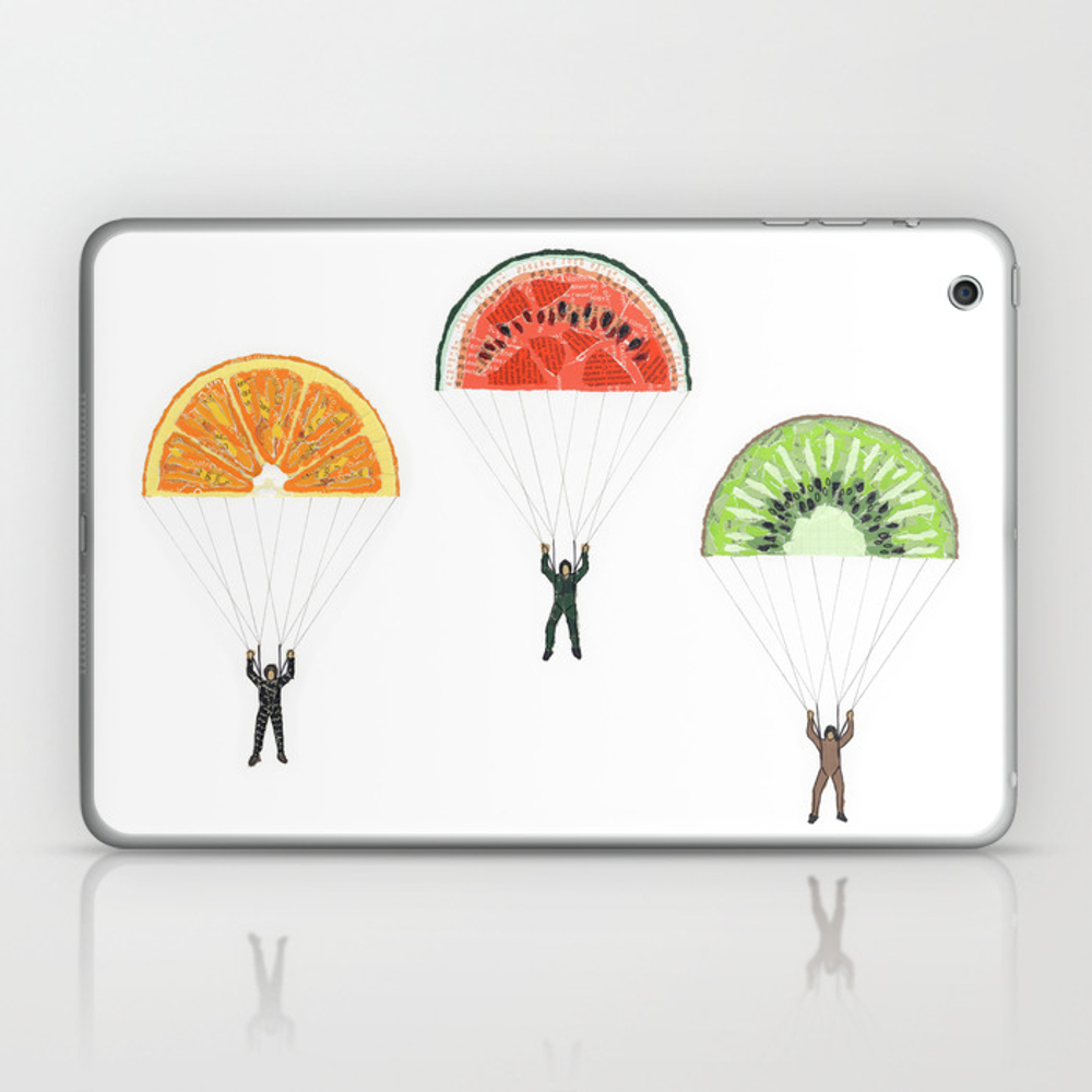 Vitaminized Commando (commando Vitaminé) Laptop & Ipad Skin by Anastel LSK838489