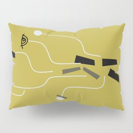 Clueless Bramble [Gold] Pillow Sham