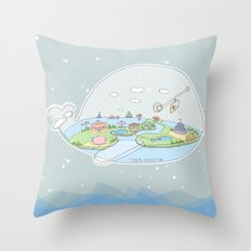 Fantastic Fish Throw Pillow