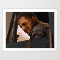 mad max Art Prints featuring Max by Albert Wint