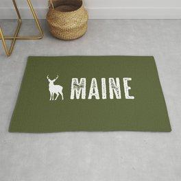 Deer: Maine Rug