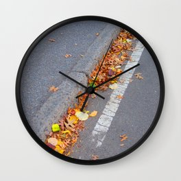 Fallen Rainbow Wall Clock