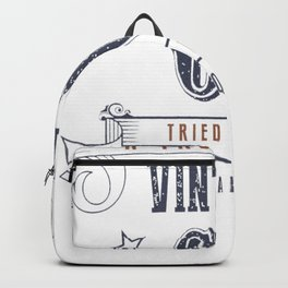 60th-Birthday---Vintage-60-Tried-&-True Backpack