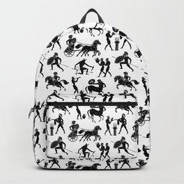 Greek Figures Backpack