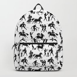 Greek Figures Backpack