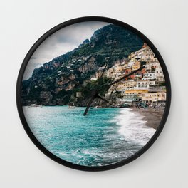 Rainy Positano XII Wall Clock