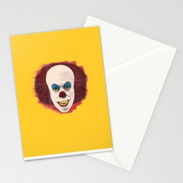The Perplexing Pennywise, the Dancing Clown Stationery Cards