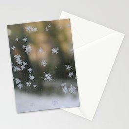 "It's frosty ""Ice Flower"" #1 #art #society6 Stationery Cards"