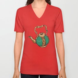 Little Teapot Unisex V-Neck
