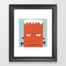 The Monster Club - Monster #6 Framed Art Print