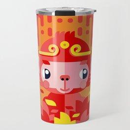 Fire Monkey Year Travel Mug