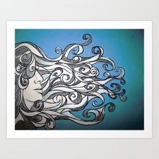 Whirl Wind  Art Print