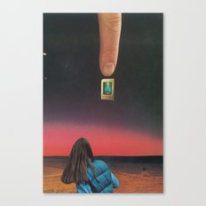Is This Real? Canvas Print