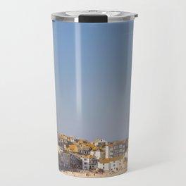 St Ives Harbour. Travel Mug