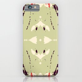 Akihime - Abstract Rorschach Butterfly iPhone Case
