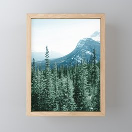 Morning Forest Framed Mini Art Print