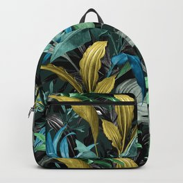 Tropical Night Garden Backpack