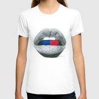 pills T-shirts featuring Love Pills  by Giorgio Arcuri