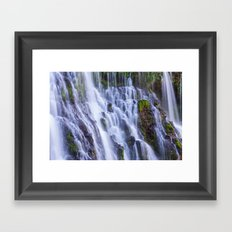 Burney Falls Framed Art Print