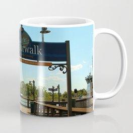 Harborwalk Sign Coffee Mug