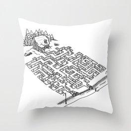 Antisocial Throw Pillow