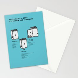 Bookbinding – About Paperback and Hardcover (in English) Stationery Cards