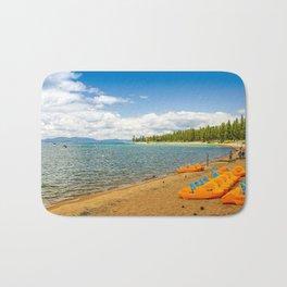 Baldwin Beach, Lake Tahoe, California Bath Mat