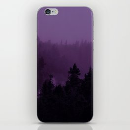 Purple Fog iPhone Skin