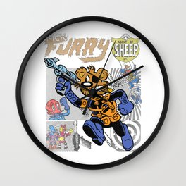 NICK FURRY: AGENT OF S.H.E.E.P. Wall Clock
