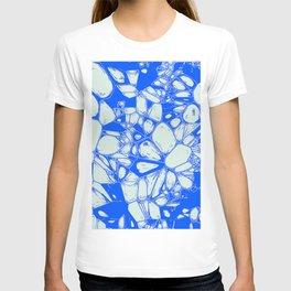 Inky Art, blue T-shirt