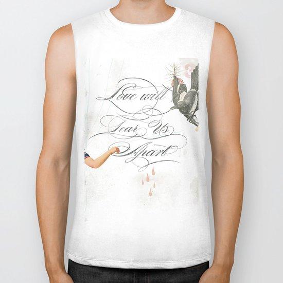 L.W.T.U.A (Love will tear us apart) Biker Tank