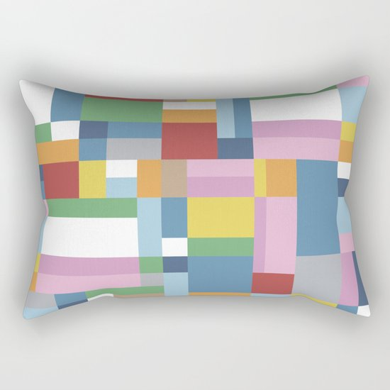 Map Close Rectangular Pillow