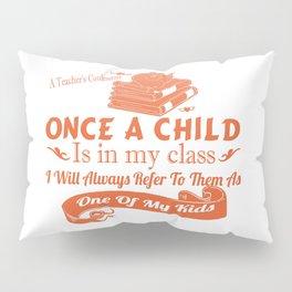 A Teacher's Confession Pillow Sham