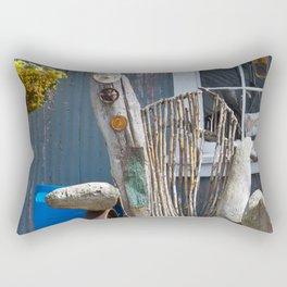 Beachwood Chair Photography Print Rectangular Pillow