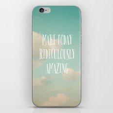 Make Today iPhone & iPod Skin