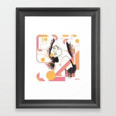 Noir Series 001. Framed Art Print