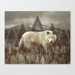 In Wildness Canvas Print
