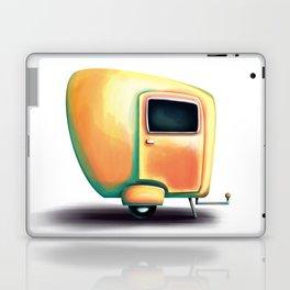 Yellow summer breeze caravan Laptop & iPad Skin