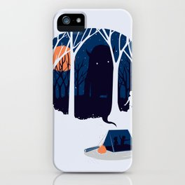 Scary story iPhone Case