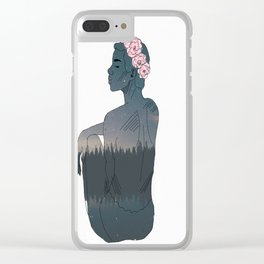 godess Clear iPhone Case