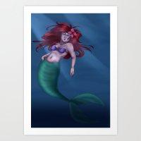Ariel  Art Print